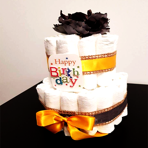 Tort scutece Yellow touch