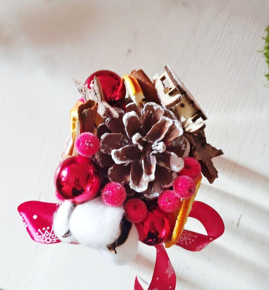 Borcanel festiv Crăciun